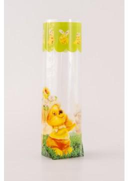 Kruisbodemzak Ostern Bunny - Toefzak Pasen - Paaszakjes