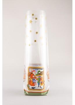 Kruisbodemzak Weihnachtsmann - Kerstman Zakje - Toefzak Kerst