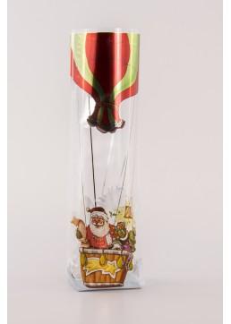 Kruisbodemzak Ballon - Toefzak Kerst - Kerstzakjes