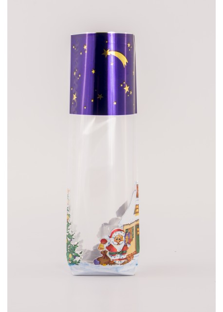 Kruisbodemzak Merry Christmas - Toefzak Kerst - Kerstzakjes