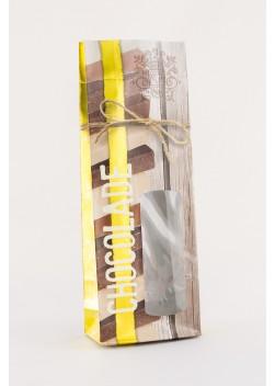 Chocoladezakken - Zakken voor chocolade - Gevoerde Blokbodemzakken