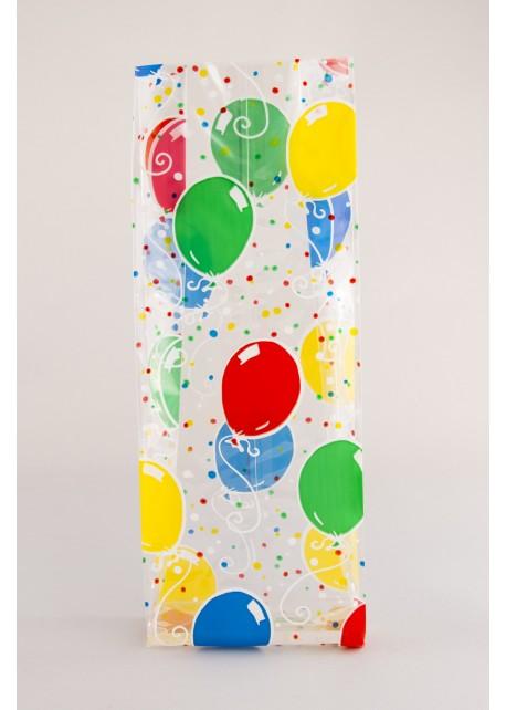 Harmonicazak Ballonnen - Zijvouwzak ballonnen
