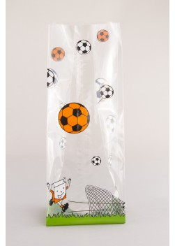 Harmonicazak Voetbal - Zijvouwzak Voetbal WK EK