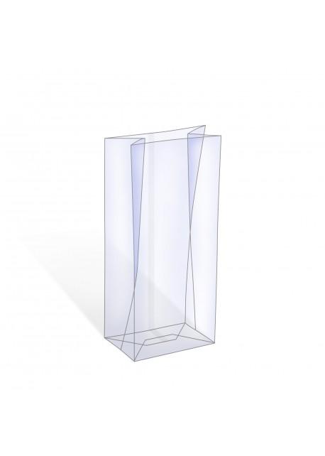 Blokbodemzak - Transparant Stazakje - Zakje rechthoekige bodem
