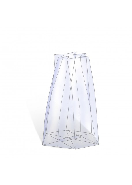 Diamantzak - Zak ronde vorm - Flessenzak