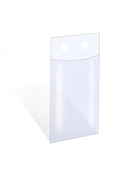 Microperforatiezak 21 x 35 + 4 cm (18my)